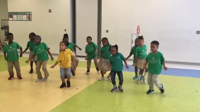 This teacher's students steal the show dancing salsa