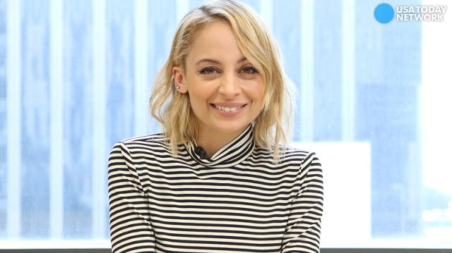 Nicole Richie portrays a news anchor on NBC's 'Great News.' Watch her read some quirky (and real) news stories.