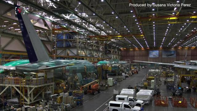 Boeing continues to lay off hundreds of employees as the aircraft sales continue to plummet. Susana Victoria Perez (@susana_vp) has more.