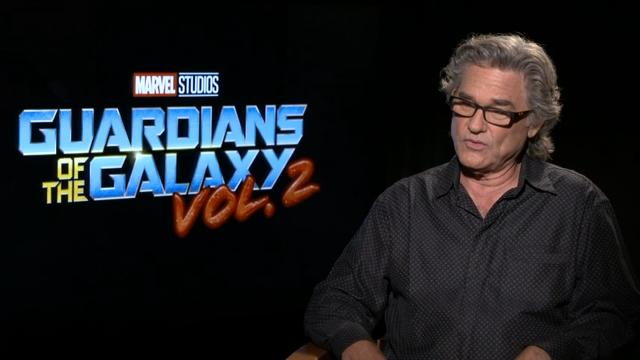 """Actor Dave Bautista believes director James Gunn's """"Guardians of the Galaxy Vol. 2"""" is better than the first movie, while Zoe Saldana and Kurt Russell discuss why family is so important in the sequel. (April 24)"""
