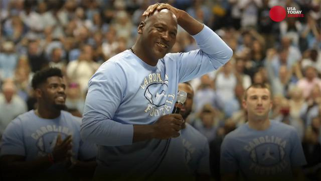 North Carolina won the sixth title in school history, but one very famous alum was not in attendance.