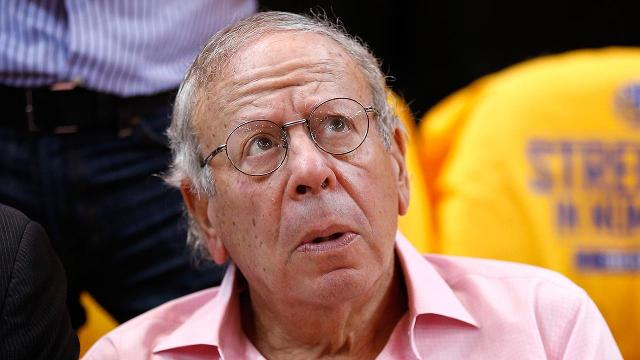 The NBA says it will investigate why Houston Rockets owner Leslie Alexander got up from his courtside seat during his team's Game 5 matchup with the Oklahoma City Thunder to yell at an official.