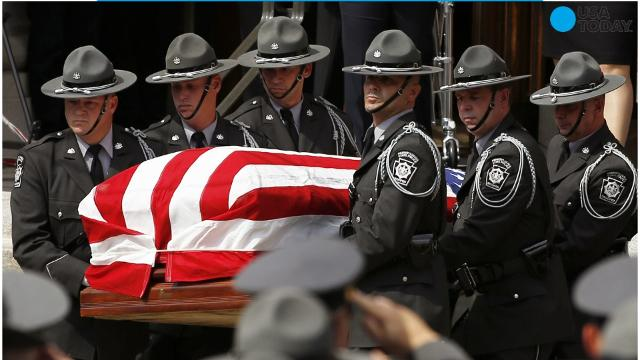 While they ponder the sentencing of a convicted killer, jurors are learning about the life of a slain Pennsylvania state trooper.