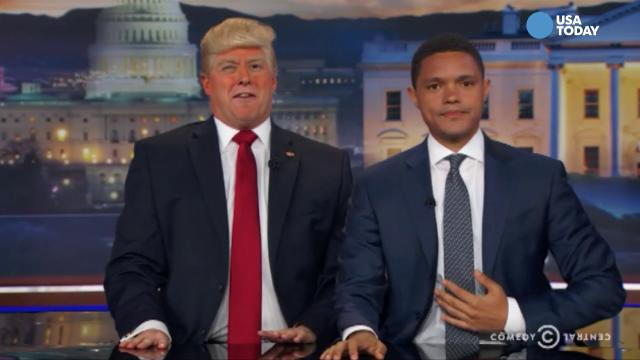 The late-night comics take a look at President Trump's border wall. After you watch our favorite jokes, vote for yours at opinion.usatoday.com.