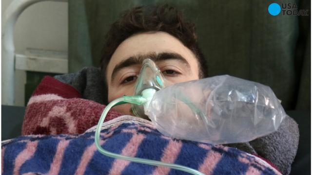 6b3f801c7ab Harrowing photos from Syria triggered international condemnation after  Tuesday s suspected chemical weapons attack that killed 70 people