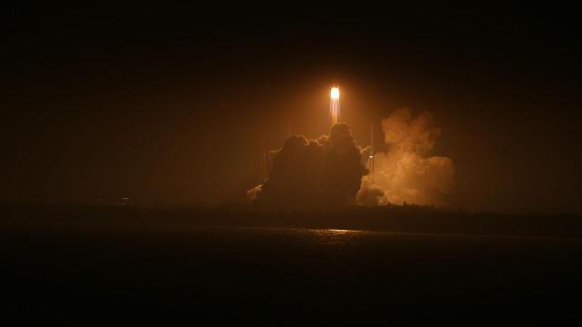 China has launched its first unmanned cargo spacecraft on a mission to dock with the country's space station.
