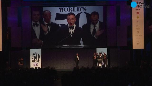 Eleven Madison Park in New York City has been named the world's best restaurant.