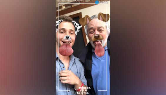 A filmmaker and a finalist in Tribeca Snapchat Shorts teaches Robert De Niro how to use Snapchat filters. No word yet on if he plans to download the app. The 2017 Tribeca Film Festival runs through April 30.