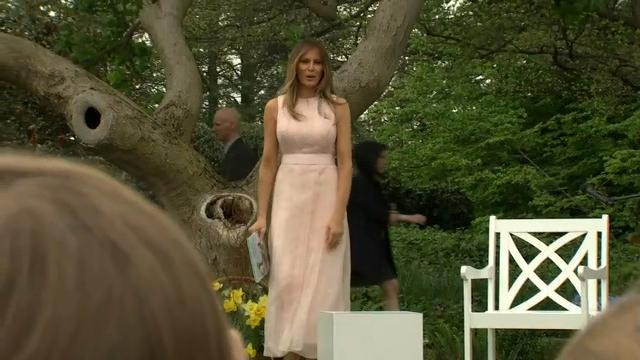 Trump family hosts thousands for Easter Egg Roll