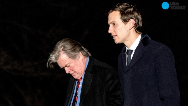 Bannon, Kushner meet to clear air, end White House rift