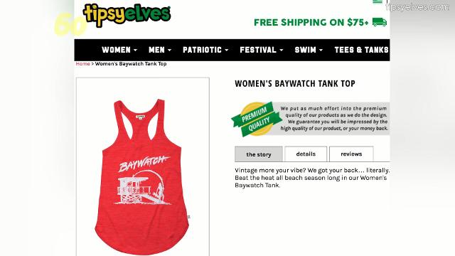 "The fun themed clothing line, Tipsy Elves, is getting everyone ready for the release of this summer's beach blockbuster ""Baywatch"". Alyse Barker (@IamAlyseBarker) has the story."