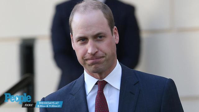 Prince William has a message for his fellow Brits: It's okay to let your emotions show.