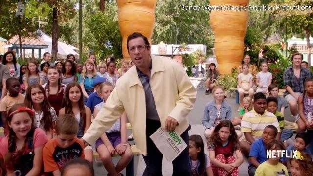 Netflix users watched over 500 million hours of Adam Sandler movies