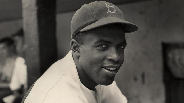 Major League Baseball celebrated the 70th anniversary of Jackie Robinson breaking the color barrier on Saturday.