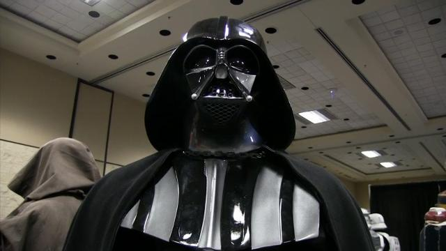 Crowds, costumes and cosplay at 'Star Wars' 40th