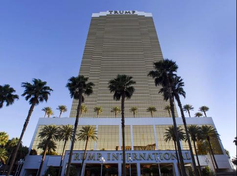 Trump International Hotel Las Vegas Monday, April 28,