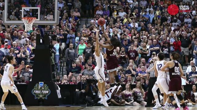 The Connecticut Huskies' 111-game win streak is over, as the Mississippi State Lady Bulldogs made game-winning shot at the buzzer in overtime.