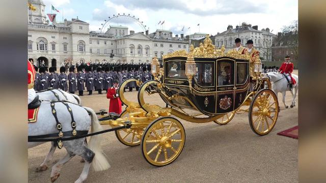 Despite security expenses and risk, Trump wants to arrive at Buckingham Palace in horse and carriage. Angeli Kakade (@angelikakade) has the story.