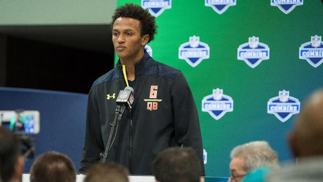 The Cleveland Browns select Notre Dame quarterback DeShone Kizer with the 52nd overall pick in the NFL draft.