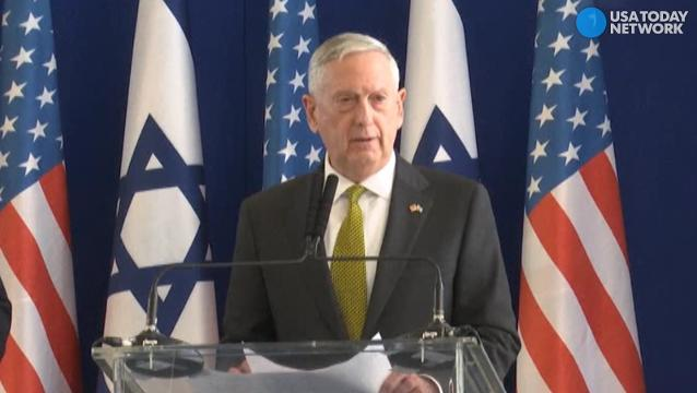 Defense Secretary Jim Mattis discussed the need to stop the Islamic State threat from spreading over the world.