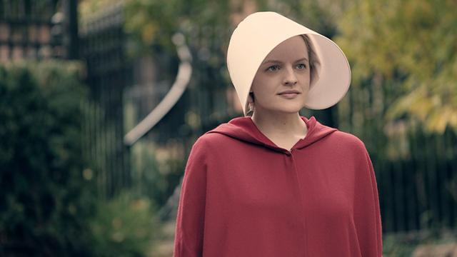Elisabeth Moss stars in the new Hulu series 'The Handmaid's Tale,'  based on a popular Margaret Atwood novel.