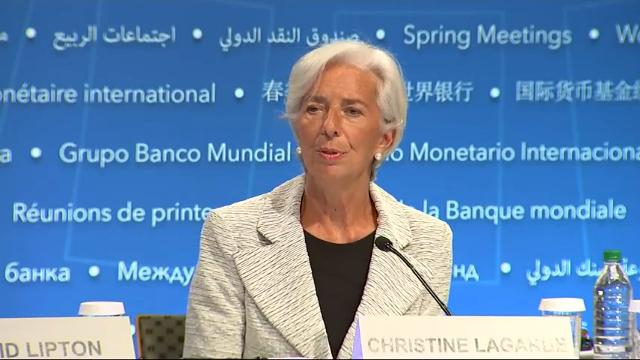 The International Monetary Fund predicts that the world economy will grow 3.5 percent this year, up from 3.1 percent in 2016. (April 20)