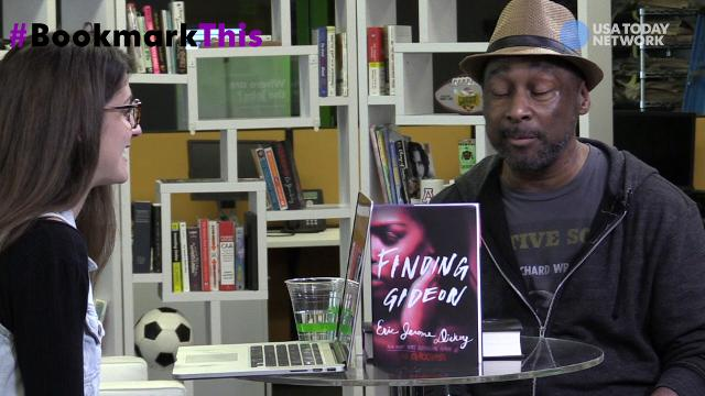 """Eric Jerome Dickey tells USA TODAY's Carly Mallenbaum that he has no idea what his famous character """"Gideon"""" looks like during a Facebook Live #BookmarkThis chat."""