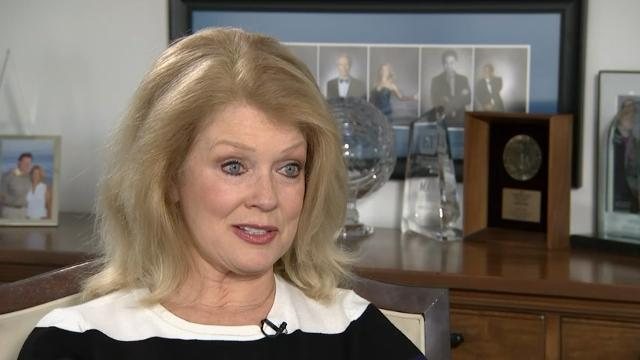 """Former """"ET"""" host Mary Hart talks about her Daytime Emmy Lifetime Achievement Award, insuring her legs and her worst ever interview. (April 28)"""