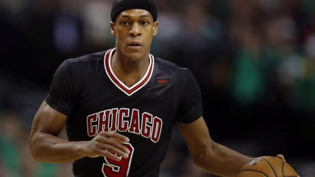 The Chicago Bulls suffered a major blow when they announced point guard Rajon Rondo is out indefinitely after suffering a right thumb fracture.