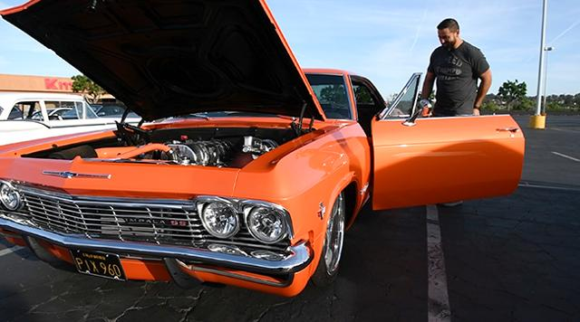 USA TODAY's Chris Woodyard searches for cool, interesting rides in Southern California. In tnis installment of Just Cool Cars he talks to the owner of a restored 1965 Impala.