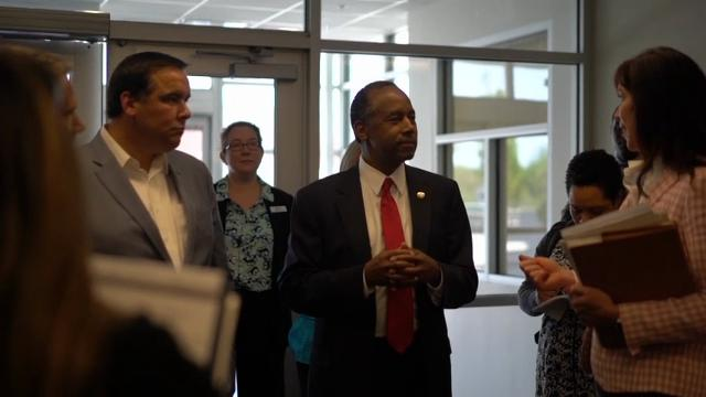 "In an AP exclusive interview, Housing and Urban Development Secretary Ben Carson says he expects to release an agenda within the next few months that delivers ""bang for the buck,"" partly by encouraging more private-sector collaboration. (April 26)"
