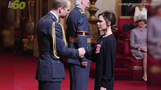 Victoria Beckham has been awarded the OBE or Order of the British Empire by the Duke of Cambridge, and while she is happy, Twitter is not. Keri Lumm (@thekerilumm) reports