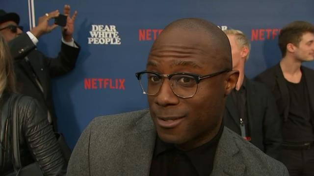 """Speaking at the premiere of Netflix series """"Dear White People,"""" """"Moonlight"""" director Barry Jenkins reveals he spent a month in Mexico after his movie's Oscar win. Jenkins directed an episode of Justin Simien's new show. (April 28)"""