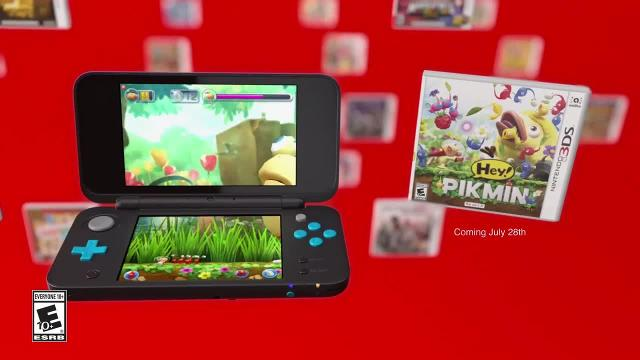 Nintendo's commercial for their new 2DS XL handheld.