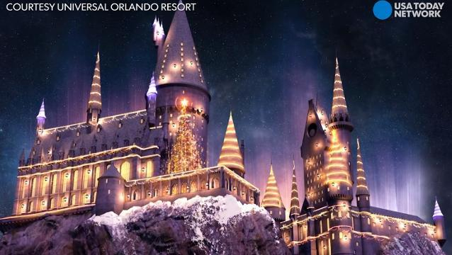 Christmas is coming to Harry Potter's Wizarding World