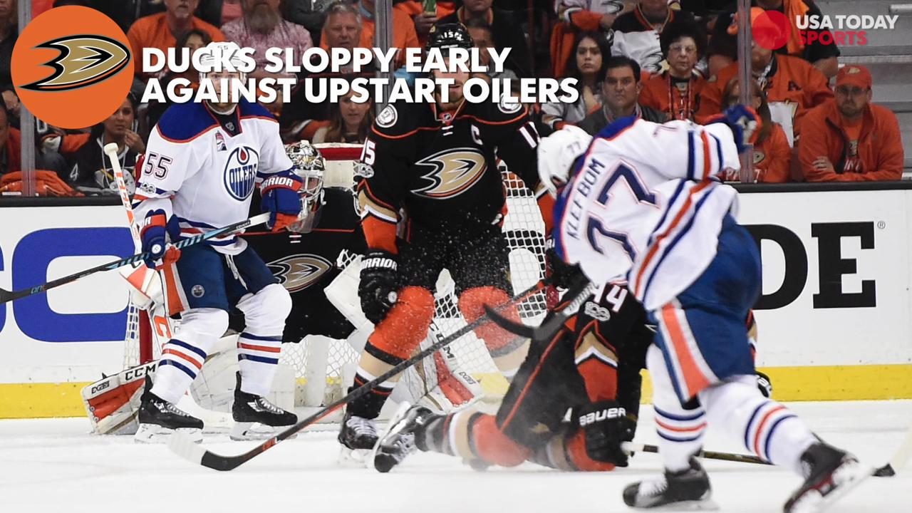 USA TODAY's Kevin Allen previews the playoff hockey this weekend and how the Blues, Caps, and Ducks face must-win situations after dropping game ones at home.