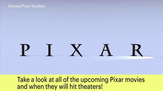 Here's every Pixar movie coming out in theaters through 2020!