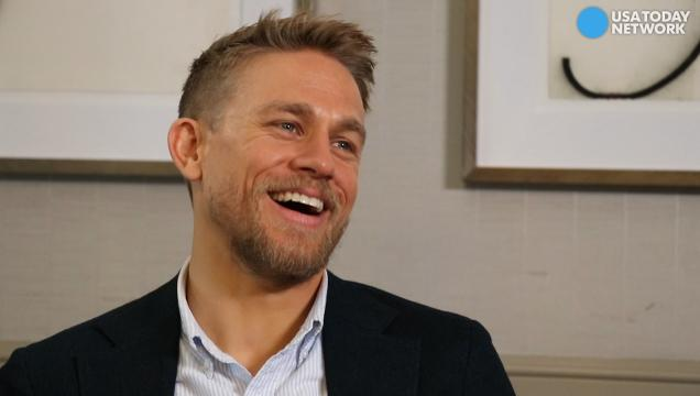 Charlie Hunnam had a few surprises while filming 'King Arthur: Legend of the Sword' and 'The Lost City of Z.' He shares his behind-the-scenes stories with USA TODAY's Andrea Mandell.
