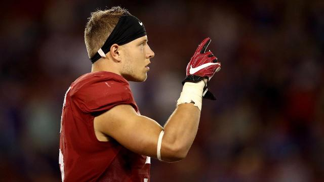Cam Newton gains a weapon as Panthers select Christian McCaffrey
