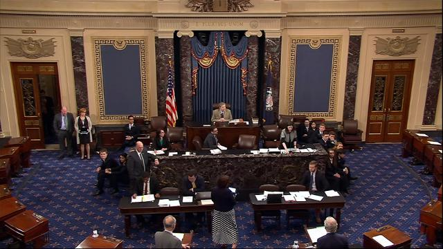 Both House and Senate approve a short-term spending bill that keeps government open for at least another week. (April 28)