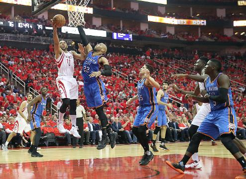 USA TODAY Sports' Sam Amick discusses the advantage the Rockets had in their series with the Thunder.