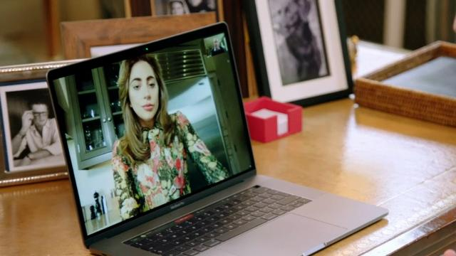 Lady Gaga and Prince William share FaceTime, talking about Gaga's mental health struggles and the Prince's charity, Heads Together. (April 17)