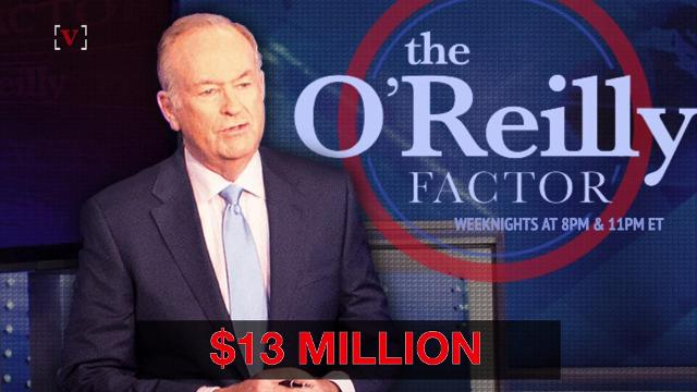 Fox News & Bill O'Reilly reportedly paid $13M in harassment settlement
