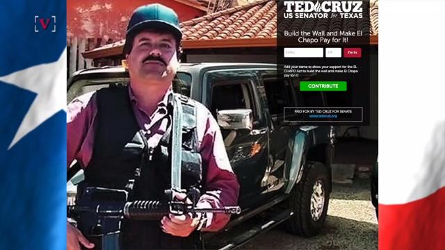 Ted Cruz wants El Chapo's drug money to pay for Trump's border wall