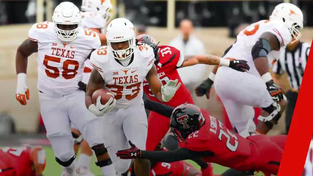 NFL Draft prospect D'Onta Foreman was one of the best players in college football last year despite the fact he had to overcome the loss of his infant son.