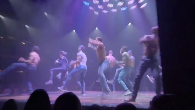 """Speaking as he premiered the Las Vegas """"Magic Mike"""" live act, actor and co-director Channing Tatum says he will appear in the show eventually. (April 24)"""