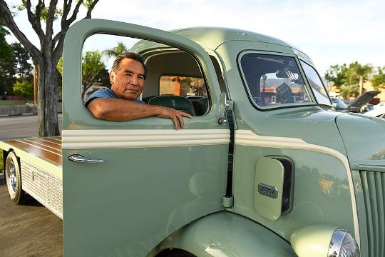 USA TODAY's Chris Woodyard talks with Benny Miranda of Newhall, Calif., about the 1941 Ford cabover truck that he restored. Just Cool Cars profiles interesting vehicles and their owners.