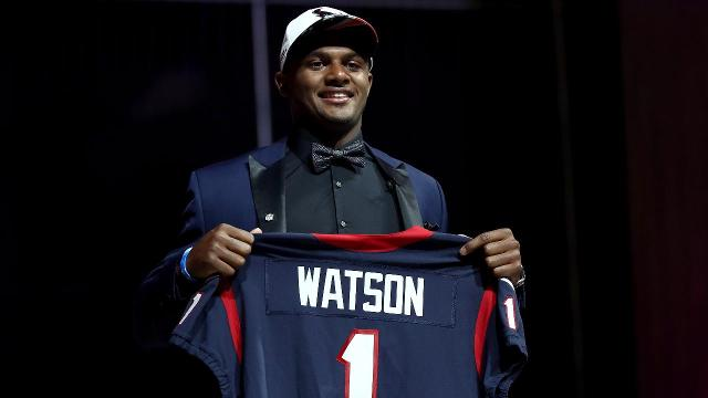 Texans swap with Browns to take Deshaun Watson