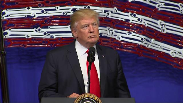 President Donald Trump signed an executive order to scale back the H-1B visa program, a move that will tighten the rules for technology companies seeking high-skilled workers from overseas. (April 18)