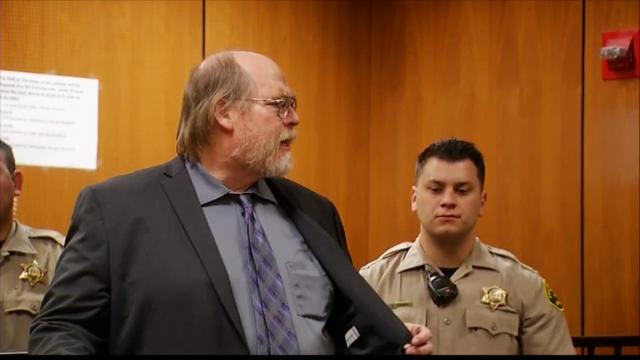 The suspect in this week's racially motivated shooting rampage in Fresno, California, entered a courtroom shouting that natural disasters striking America will increase. (April 21)